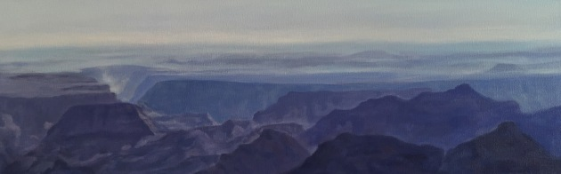 North Rim of the Grand Canyon 12x36