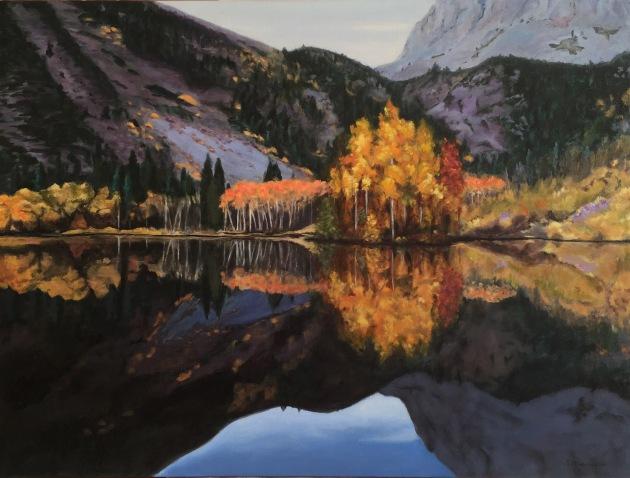 Reflection in the Eastern Sierra 30x40