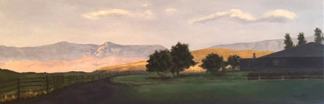 Sunrise at Sundance 10x30 (In Private Collection)